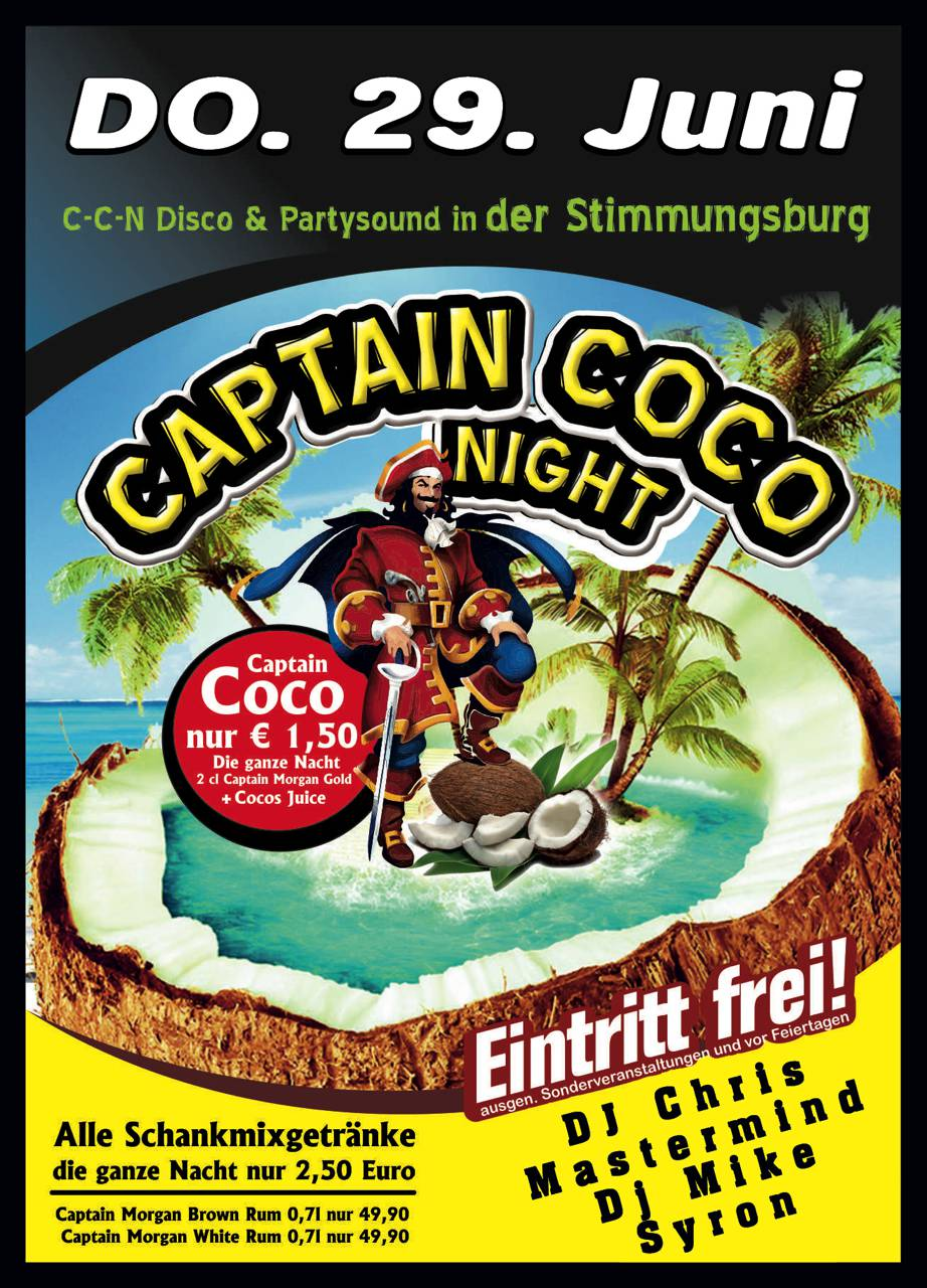 Captain Coco Night