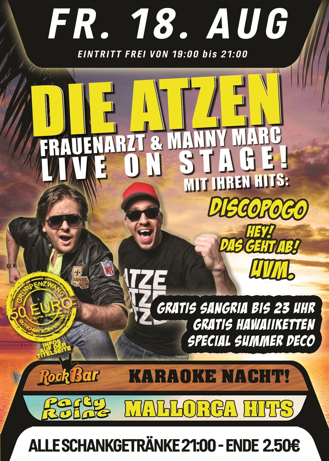 Atzen Live