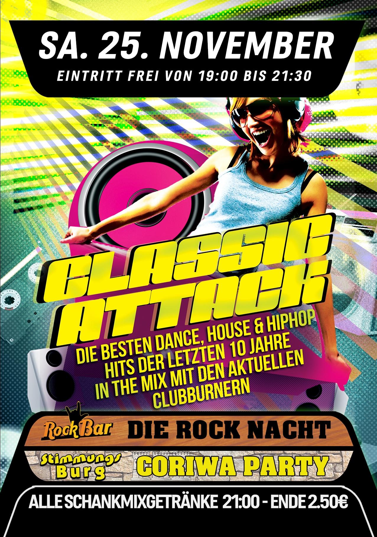 Classic Attack! Die Hits der letzten Jahrzehnte!