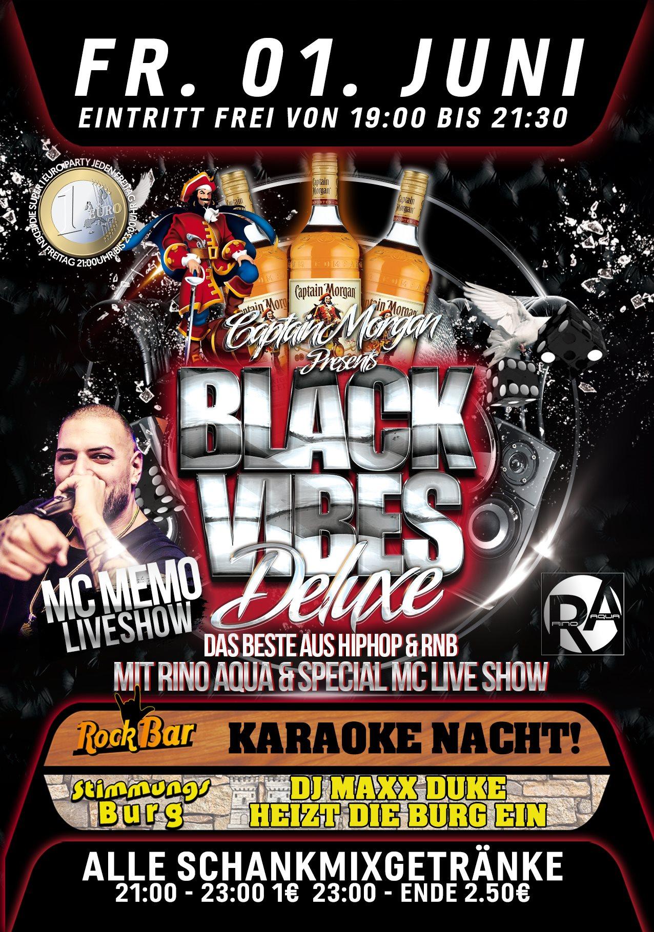 Black Vibes Deluxe /w MC Memo