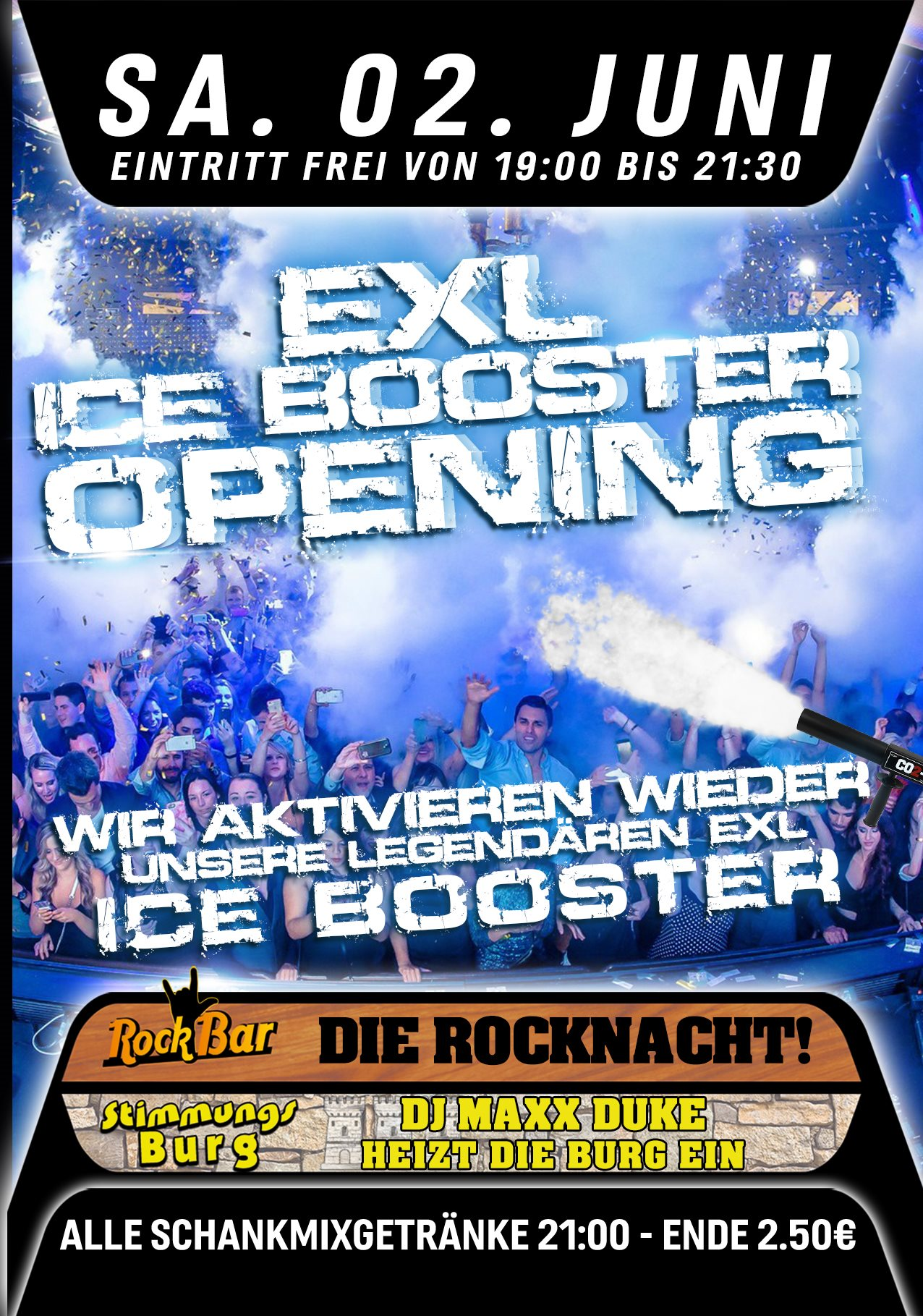 EXL Ice Booster Opening