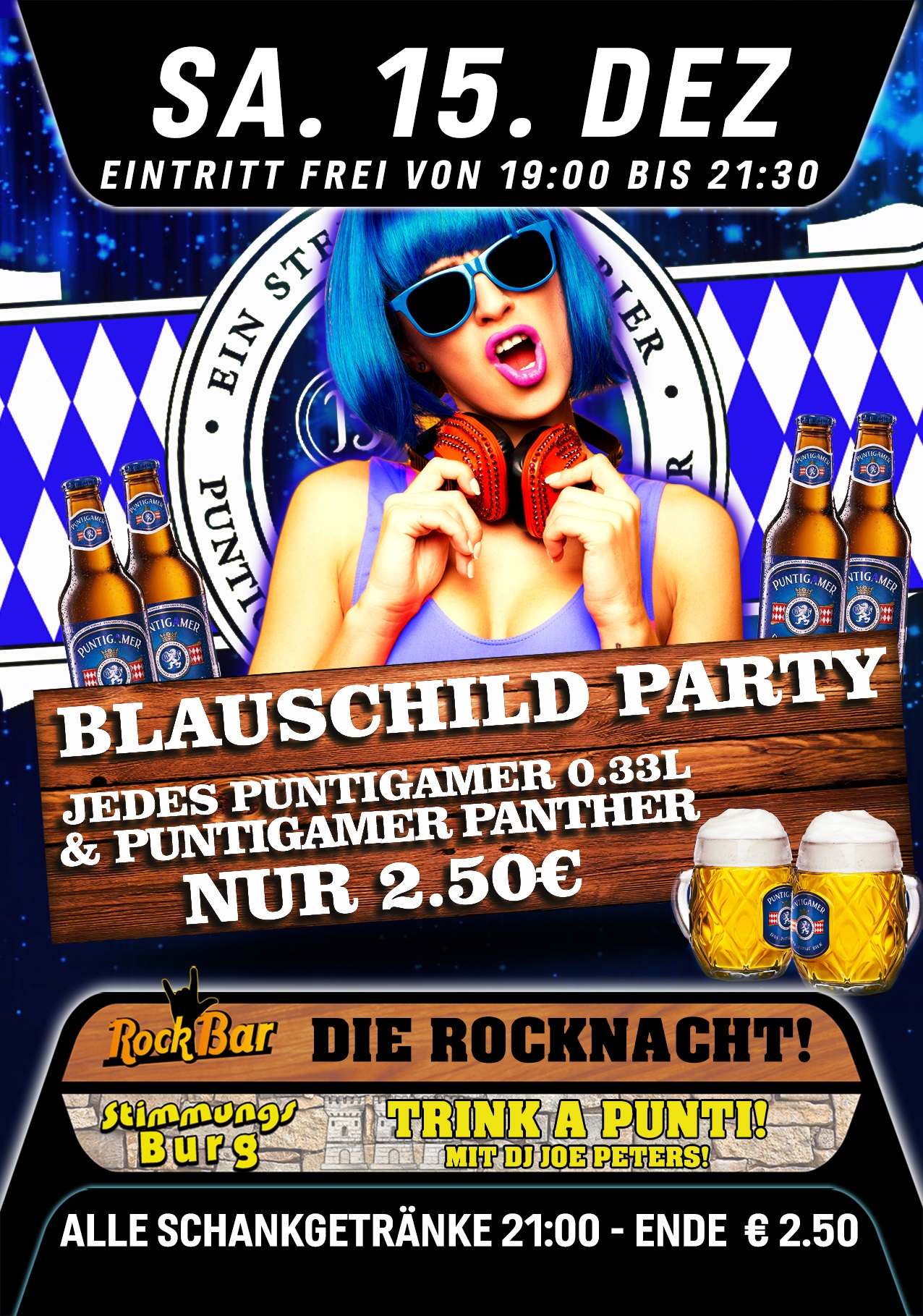 Blauschild Party