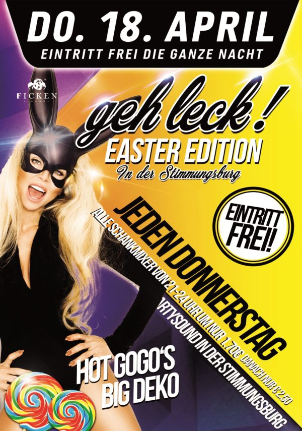 Geh leck – Easter Edition