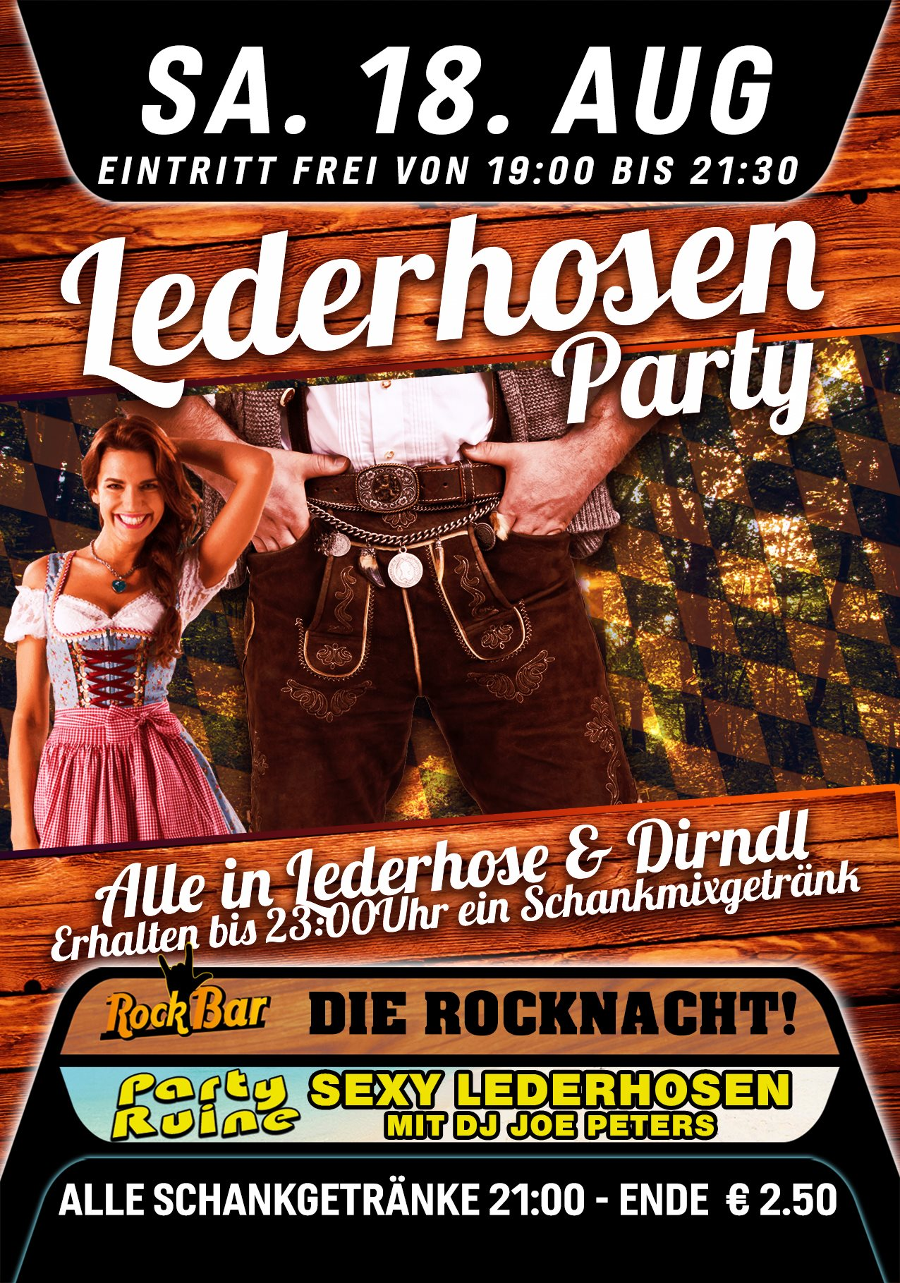 Lederhosen Party