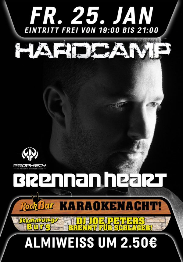 Hardcamp Pres. BRENNAN HEART