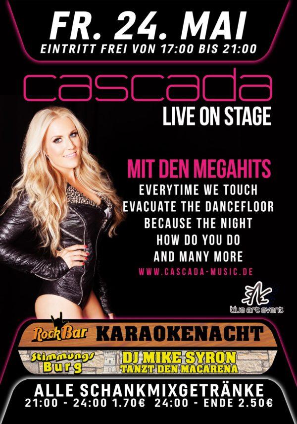 Cascada Live!
