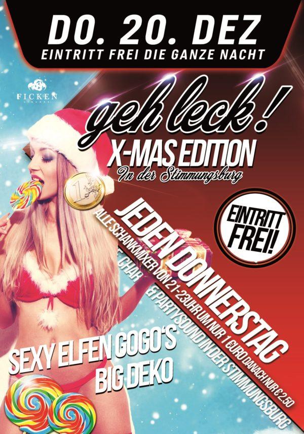 Geh Leck! Die Mega 1€ Party Xmas Edition
