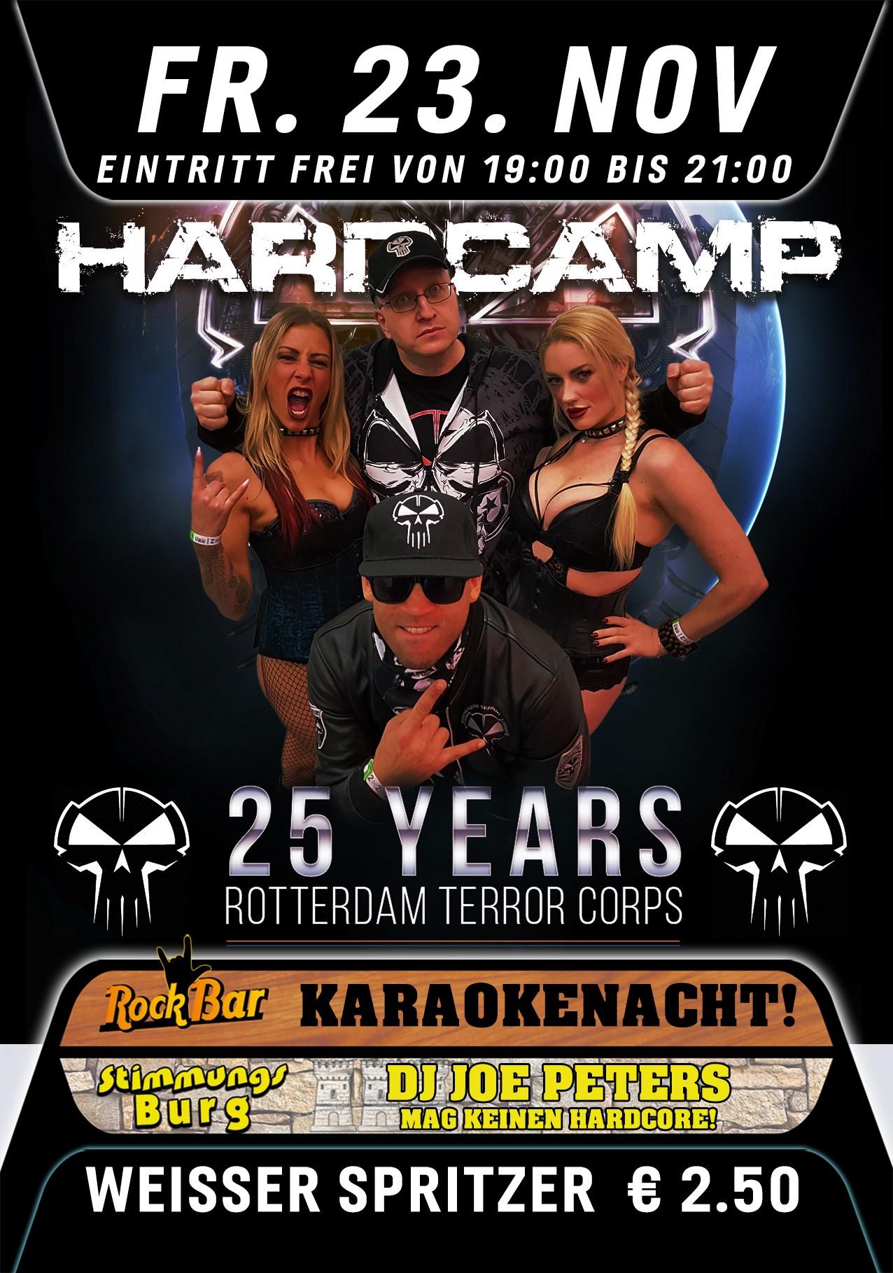 Hardcamp Presents 25 Years Rotterdam Terror Corps