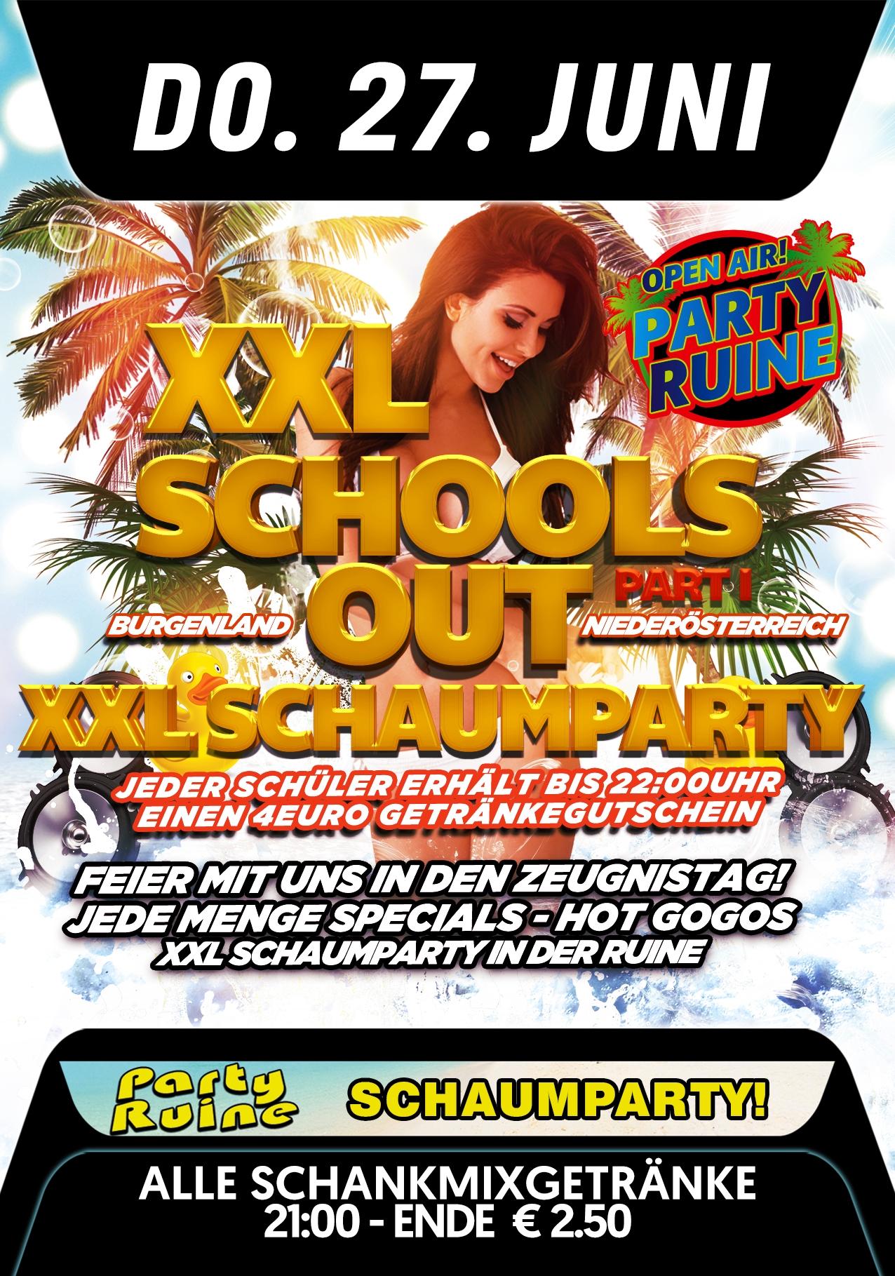 XXL Schoolsout Party