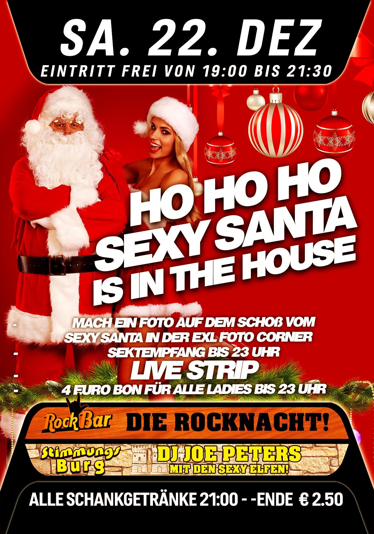 HOHOHO - Sexy Santa is in the House