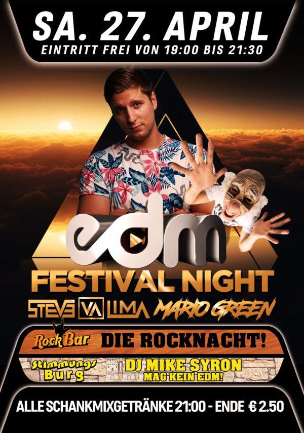 EDM Night mit Steve Lima