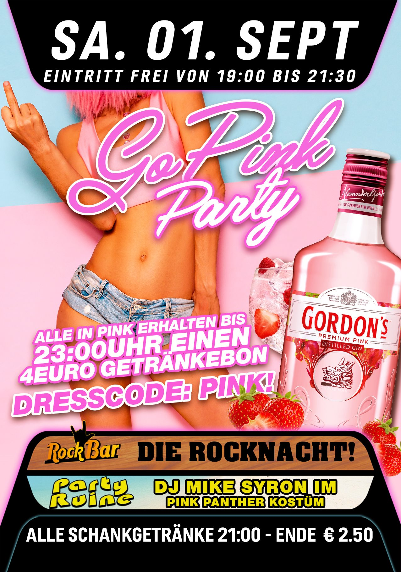 Go Pink Party!