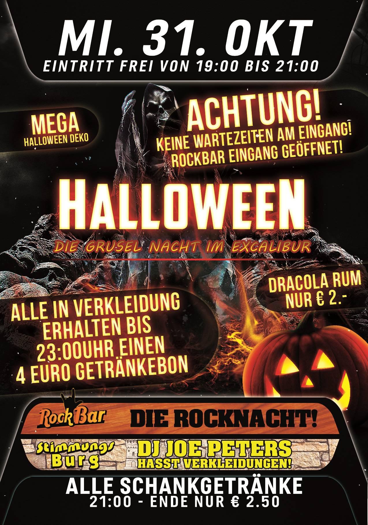 Halloween - Die Grusel Nacht im Exl