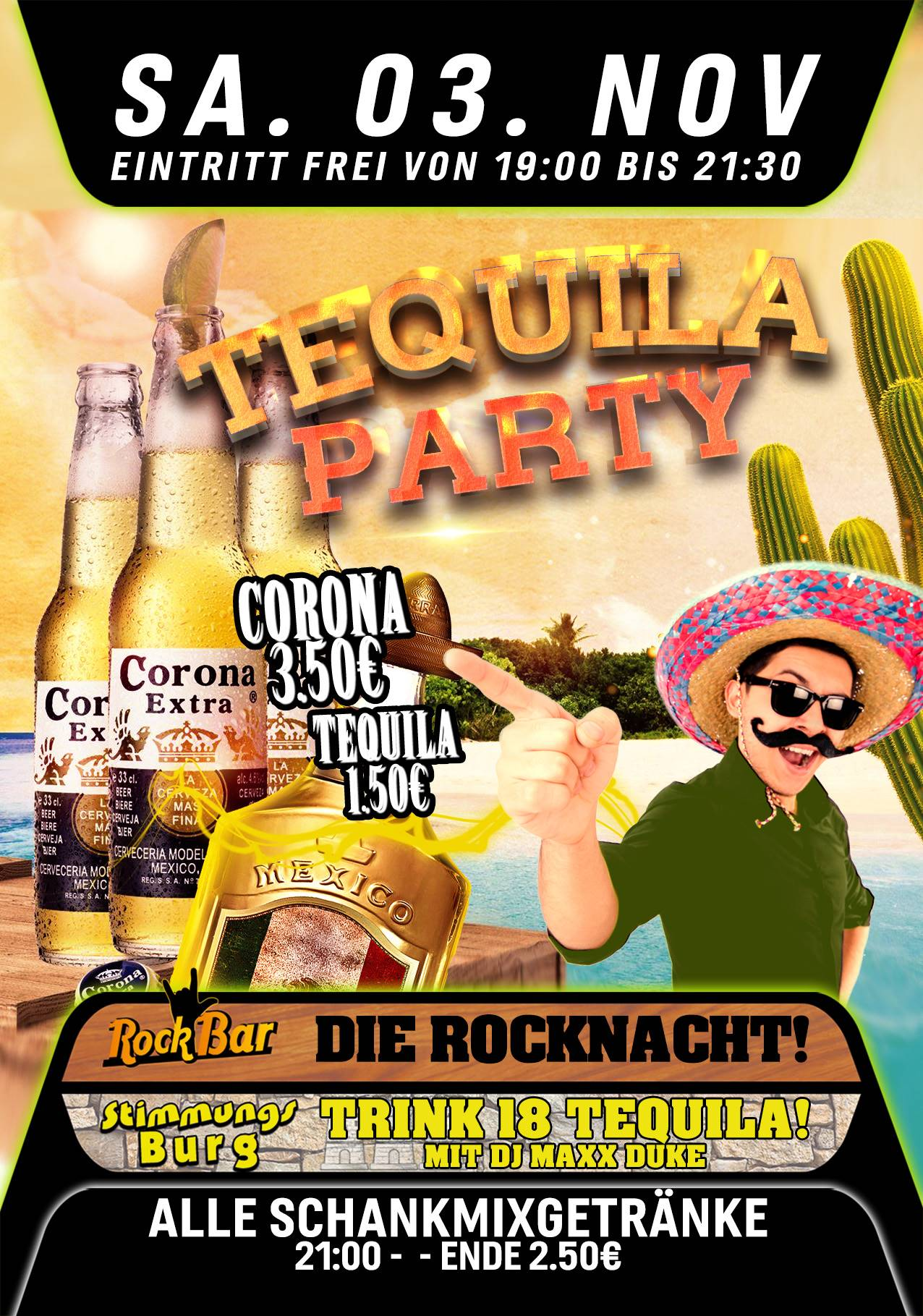 Tequila Party!