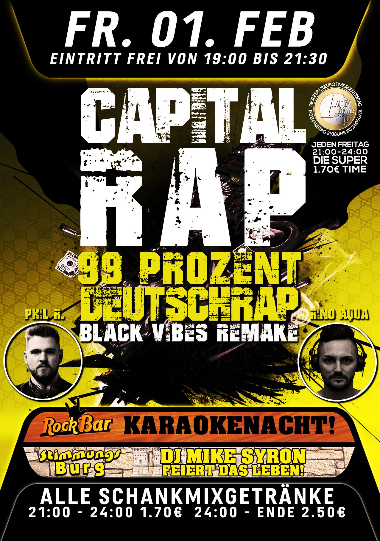 Capital Rap - 99% Deutschrap
