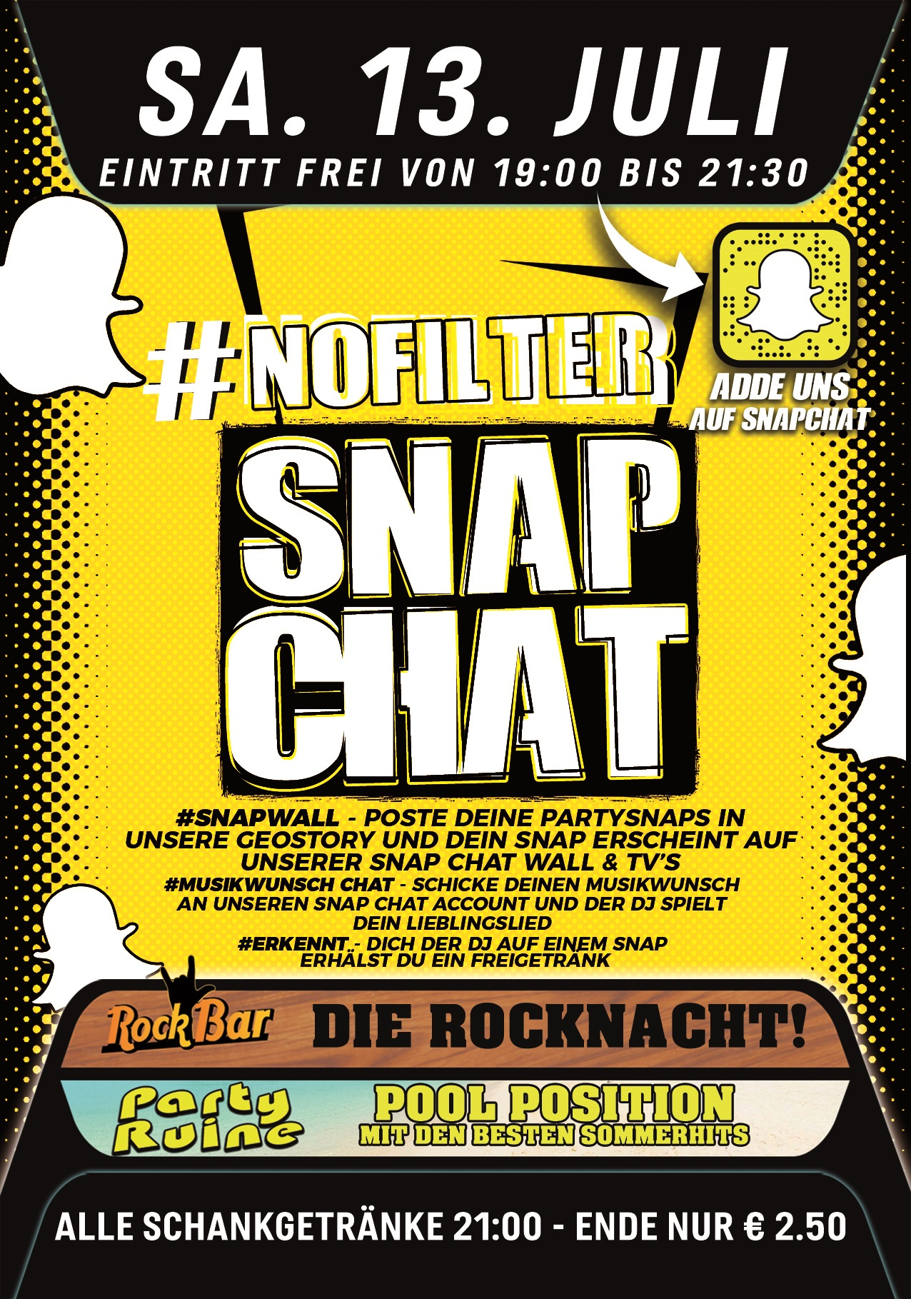 #Nofilter - Snapchat Party