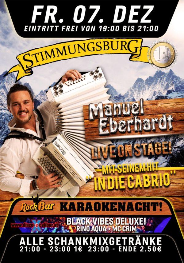 Manuel Eberhardt Live