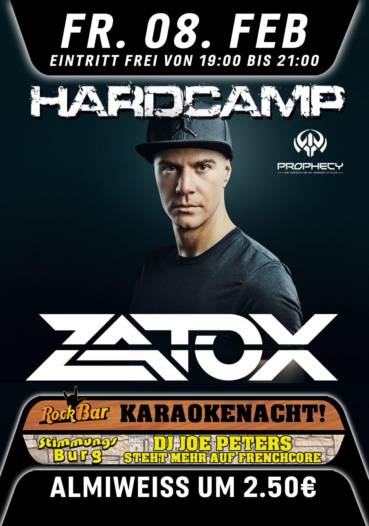Hardcamp Pres. ZATOX!