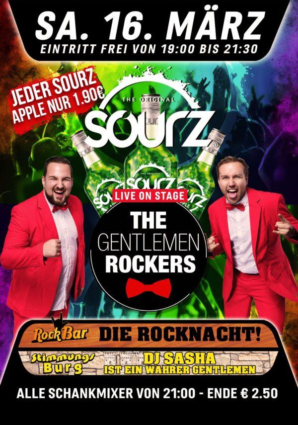 Sourz Pres. Gentlemen Rockers!