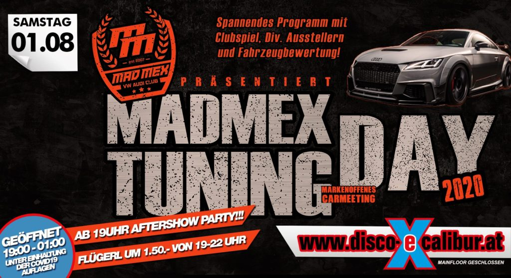 Madmex Tuning Day + Aftershowparty