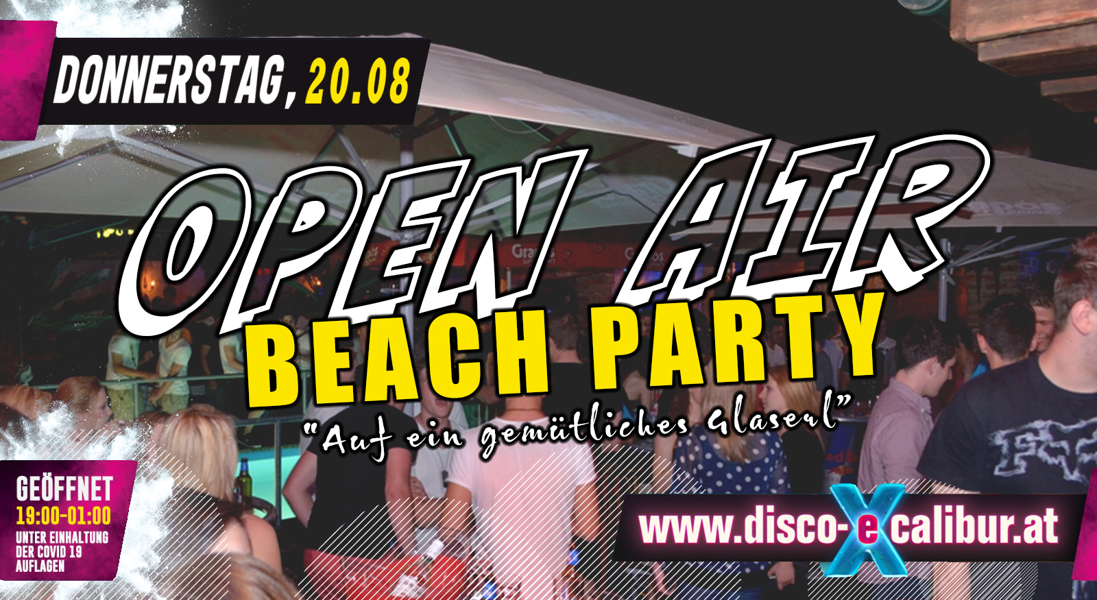 OPEN AIR Beach Party