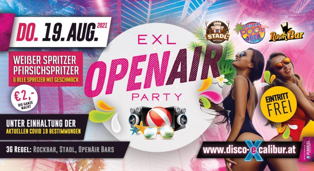 EXL OPENAIR Party