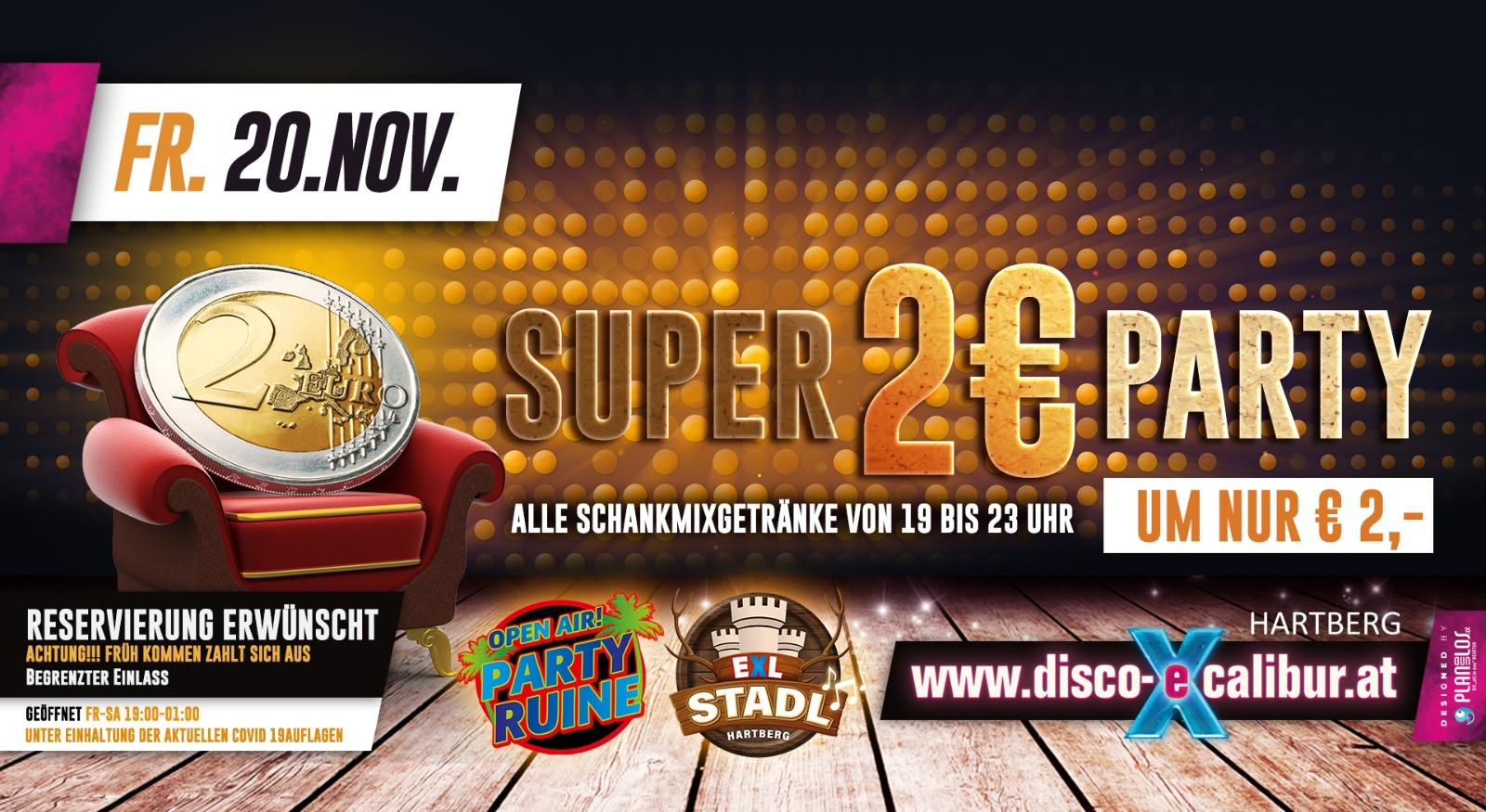 SUPER 2 EURO Party